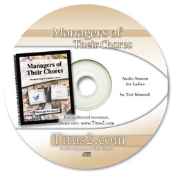 Managers of Their Chores Book + Workshop on CD