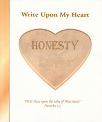 Write Upon My Heart: Honesty Character Book