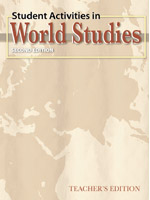 BJU World Studies Student Activities Teacher's Edition